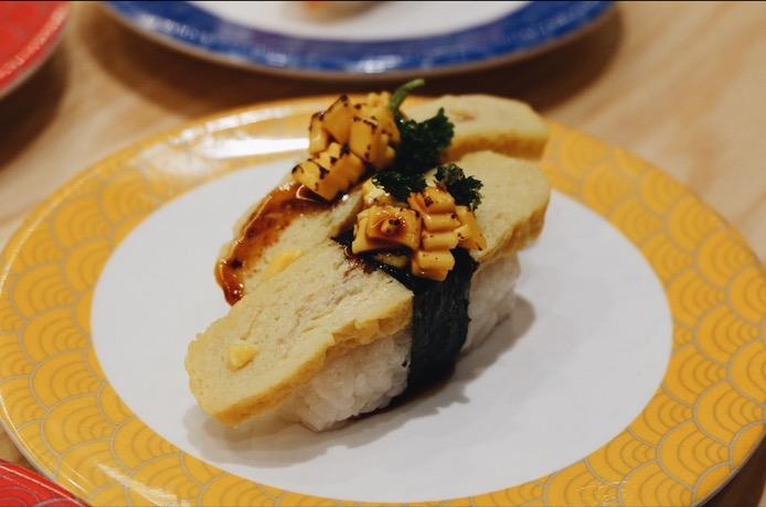 Smoked Cheese Tamago Sushi Tom Sushi