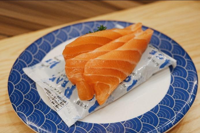 Salmon Sashimi Tom Sushi