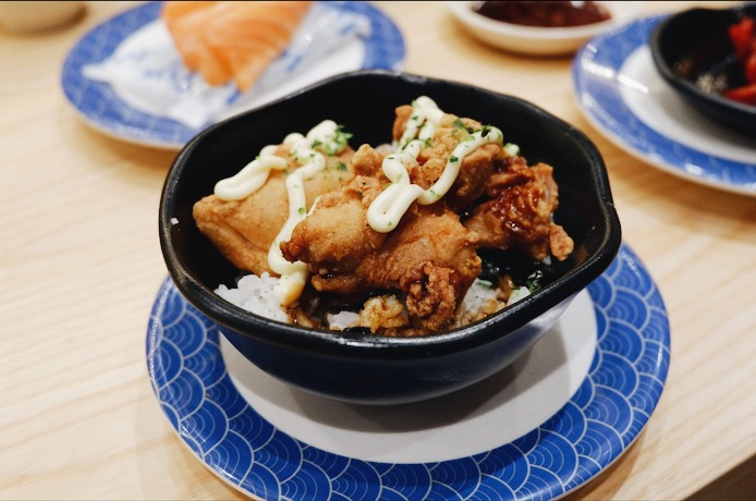 Chicken Karaage Don Tom Sushi
