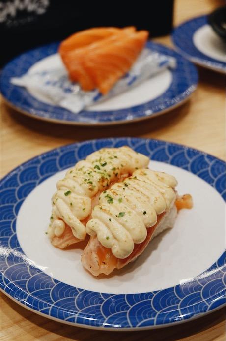 Salmon Mentai Sushi Tom Sushi