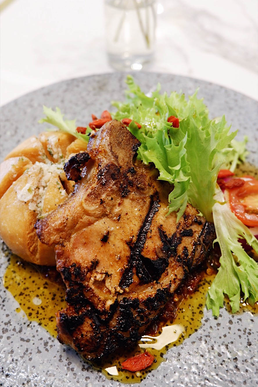 Sous Vide Chinese Style Pork Chop Lucky Number Wan Puri Indah